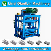 small hollow block machine